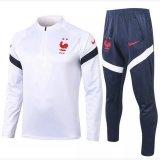 Nuova maglia Francia Formazione ML bianco Euro 2020