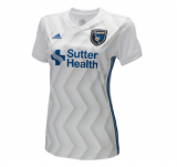 seconda maglia San Jose Earthquakes donna 2018