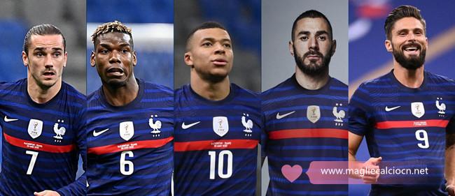 Nuova Maglia Francia 2022 poco prezzo