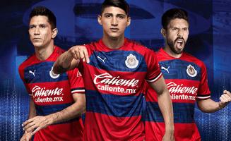 divise calcio Chivas de Guadalajara 2021