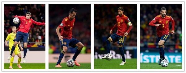 kit calcio Spagna 20 21