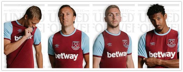 nuova maglia West Ham 2021