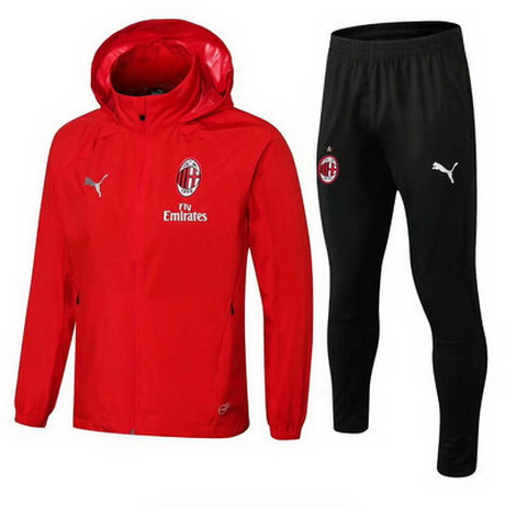 maglia Milan Giacca rosso 2019