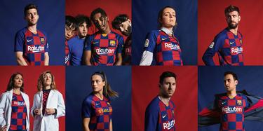 Camisetas de los 20 equipos de la Liga 2019 2020 Nuova_maglia_Barcellona_2019_2020
