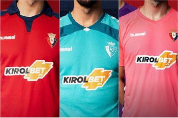 Camisetas de los 20 equipos de la Liga 2019 2020 Nuova_maglia_CA_Osasunad_2020