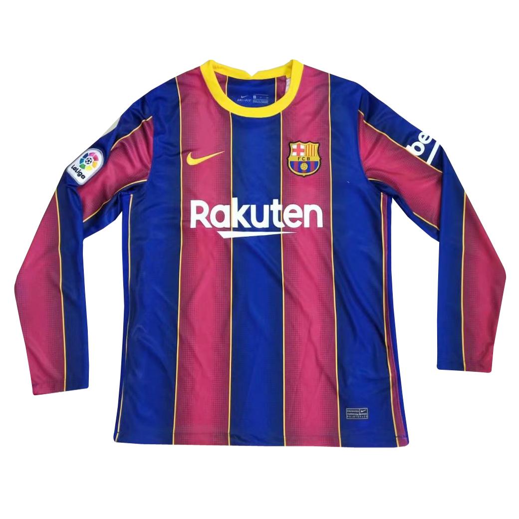 Nuova prima maglia Barcellona manica lunga 2021
