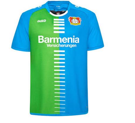 Nuova terza maglia Bayer 04 Leverkusen 2017