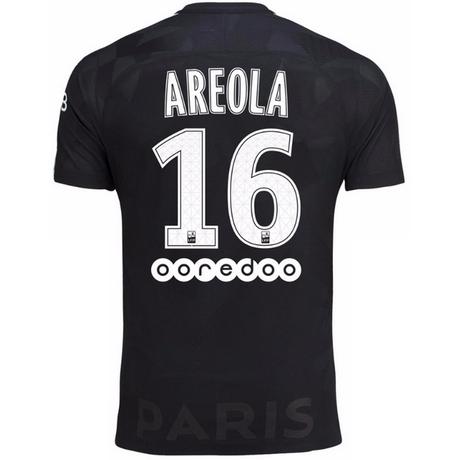 Nuova terza maglia PSG Areola 2018